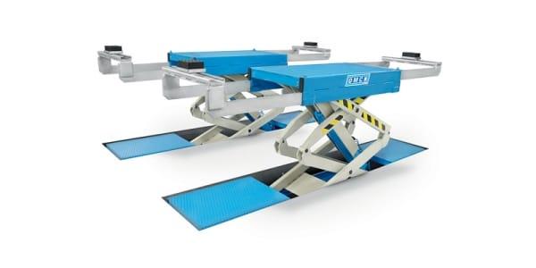 Ponte sollevatore doppia forbice omcn 730 cartest for Ponte sollevatore a forbice