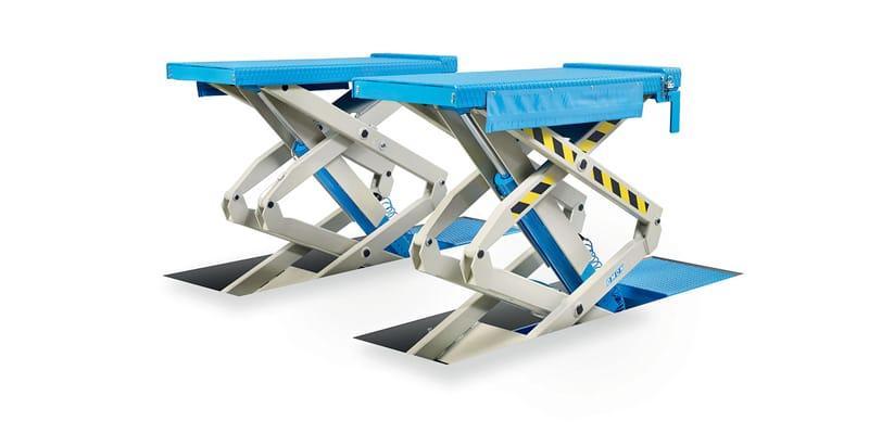 Ponte sollevatore doppia forbice omcn 705 cartest for Ponte meccanico per auto usato