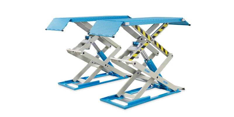 Ponte sollevatore doppia forbice omcn 718 cartest for Ponte meccanico per auto usato