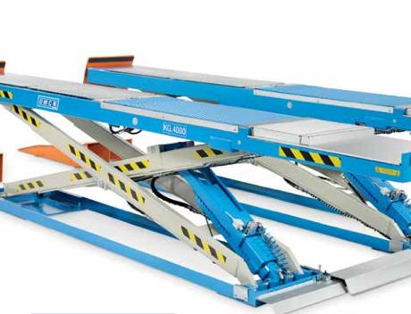 Ponte sollevatore a forbice omcn 822 cartest for Ponte meccanico per auto usato